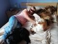Sunny in seiner neuen Familie